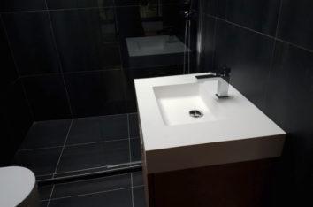 Nettoyage fin de chantier salle de bain