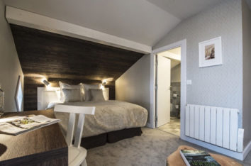 Chalet whymper chambre