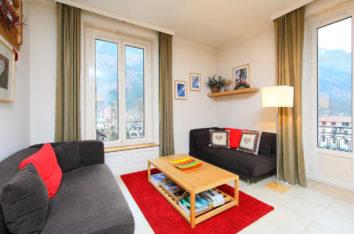 Résidence Mont-Blanc chambre